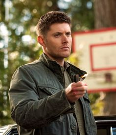 "Supernatural -- ""Meta Fiction"" -- Image -- Pictured: Jensen Ackles as Dean -- Credit: Cate Cameron/The CW -- © 2014 The CW Network, LLC. All Rights Reserved Supernatural Photos, Supernatural Season 9, Supernatural Episodes, Jared And Jensen, Jensen Ackles, Winchester Brothers, Dean Winchester, Demon Dean, Fiction"