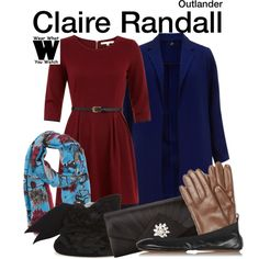 Inspired by Caitriona Balfe as Claire Randall on Outlander.