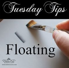 Debbie Cole continues her Tuesday Tips series with a discussion on Floating.