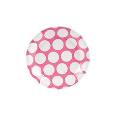 Make your birthday party pop with these eye-catching paper plates. Choose the perfect color to fit your party theme and use these durable paper plates to . Polka Dot Paper, Pink Polka Dots, Pink Dot, Lego Elves Dragons, Party Plates, Dessert Plates, Bubble Party, Party Pops, Pink Chocolate