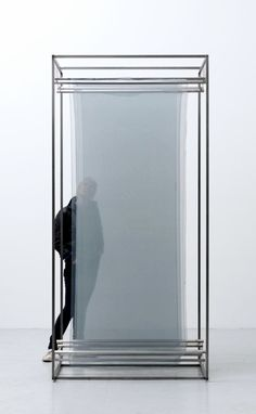 Tove Storch   Untitled, 2012   silk, stainless steel and wire