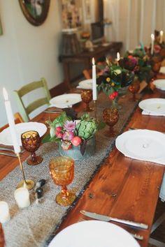 Friendsgiving - A Rustic Farm Dinner with Friends