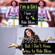 i m like tht 😅😅 Funny Attitude Quotes, Attitude Quotes For Girls, Crazy Girl Quotes, Funny Girl Quotes, Girly Quotes, Jokes Quotes, Pretty Quotes, Crazy Girls, Funny School Memes