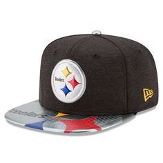 Pittsburgh Steelers New Era 2017 NFL Draft On Stage Original Fit 9FIFTY  Snapback Cap be31b4e37a7