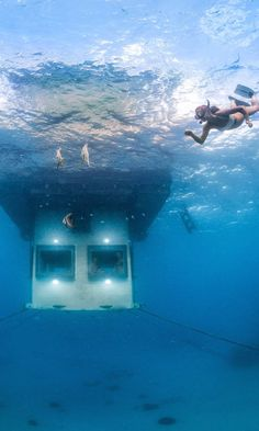The 11 Coolest Underwater Hotels in the World