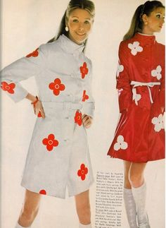 1960's...... So Prada Spring/Summer 13, non?