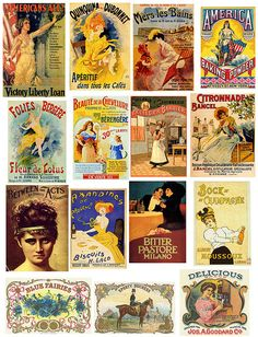 Vintage Ads 3 by PaperScraps, Free to use. Check out the whole album, there is a huge assortment of vintage labels, ads, and illustrations. Vintage Labels, Vintage Ephemera, Vintage Ads, Vintage Prints, Collage Vintage, Images Vintage, Vintage Pictures, Sculpture Textile, Etiquette Vintage