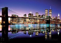 Pont de Brooklyn, New York Affiches sur AllPosters.fr