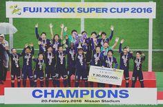 FUJI XEROX SUPER CUP 2016 #サンフレッチェ広島 3-1 #ガンバ大阪 #Jリーグ  #jleague  明治安田生命Jリーグはいよいよ2/27土28日開幕 by jleaguejp