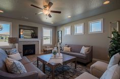 The Waterbrook by Hayden Homes - Living Room - the Waterbrook offers 4 bedrooms and 2.5 bathrooms with 3,195 sq. feet.
