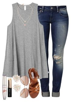 A fashion look from may 2016 by lydiamorrison featuring rvca, mavi, steve m Spring Summer Fashion, Spring Outfits, Mode Jeans, Mode Style, Cute Casual Outfits, Fashion Outfits, Womens Fashion, Fashion Weeks, Everyday Outfits