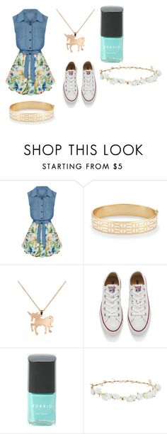"""""""The Golden Blues"""" by tahliaxxoo ❤ liked on Polyvore featuring Allegra K, Stella & Dot, Louche, Converse, Torrid and Robert Rose"""