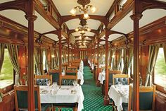 Scenic Trips on the World's Most Luxurious Trains Photos | Architectural Digest