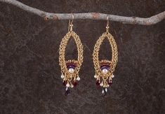 Long Earrings, Chandelier Large Gold Statement #jewelry #earrings @EtsyMktgTool http://etsy.me/2i7IYSZ