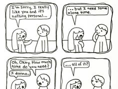 This Girl Doodles Adorable Comics To Shed Light On Introverts And Their Daily Struggles