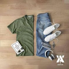 Outfit Ideas For Men: Stylish Mens Clothes That Any Guy Would Love Komplette Outfits, Casual Outfits, Fashion Outfits, Simple Outfits, Casual Wear, Men Casual, Style Masculin, Mens Fashion Blog, Fashion Trends