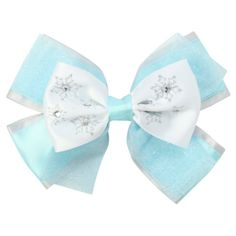 Disney Frozen Elsa Cosplay Bow | Hot Topic ($6.50) ❤ liked on Polyvore