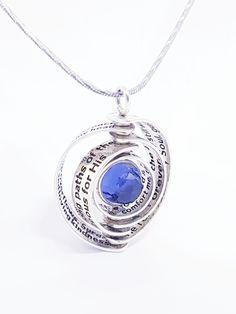 Stunning Psalm 23 Swivel Pendant by David J. David J, Psalm 23, Concept, Pendant Necklace, Jewellery, Sterling Silver, Beautiful, Fashion, Moda