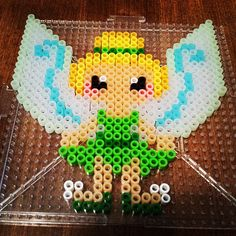 Tinker Bell perler beads by kmpatenaude