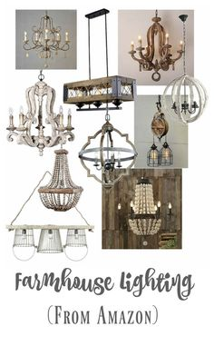 Did Someone Say Farmhouse Lighting? - Farmhouse lighting doesn't have to cost a fortune! All of these fabulous farmhouse lighting fixtu - Table Farmhouse, Farmhouse Dining Room Lighting, Kitchen Lighting Over Table, Modern Farmhouse Lighting, Farmhouse Kitchen Lighting, Farmhouse Light Fixtures, Farmhouse Chandelier, Kitchen Lighting Fixtures, Farmhouse Style