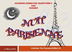 Nuit Parisienne - 11 Marzo 2015 dalle ore 19 presso lo Slash in Via Bellini Napoli