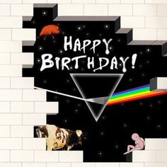 32 Ideas For Birthday Happy Pink Floyd Birthday Cards For Boys, Happy Birthday, Funny Birthday Cards, Birthday Photos, Birthday Presents For Men, Birthday Gifts For Husband, Girlfriend Birthday, Pink Floyd, Best Birthday Wishes Quotes