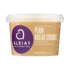 Aleia's Gluten Free Plain Bread Crumbs 13 oz, Pack of 1 Gluten Free Recipes For Dinner, Foods With Gluten, Gourmet Recipes, Keto Recipes, Dinner Recipes, What Is Gluten Free, Food Net, Gluten Free Bakery