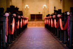 church wedding decor comtemporary | White Rose Weddings: Ideas to Transform your Church or Chapel ....