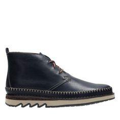 Fallton Top - Navy Leather