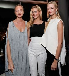 Parties — Big Night Out - Claire, Jenna and Virginie Courtin-Clarins
