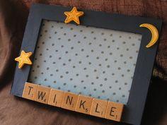 Scrabble Letter Tile Photo frame