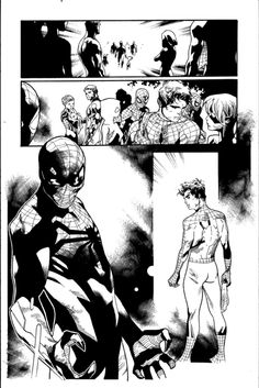 Amazing Spider Man #10 page 23 Comic Art