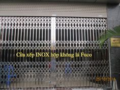 Cửa xếp INOX Hộp 304 - cuaxepinox.vn