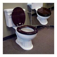 Toilet Seat Toilet Seat Toilet Seat Toilet Seat klositz Bathroom Wood Brown Bamboo