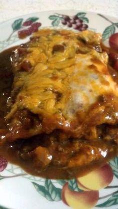 Beef and Bean Burritos Supreme.