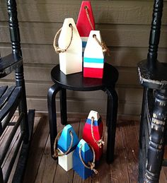 pottery barn diy wooden buoy | Dolen Diaries