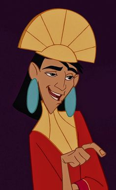 "Emperor Kuzco (David Spade) in ""The Emperor's New Groove"" him Emperor's New Groove, Disney Kunst, Arte Disney, Disney Magic, Disney And Dreamworks, Disney Pixar, Disney Characters, Disney And More, Disney Love"