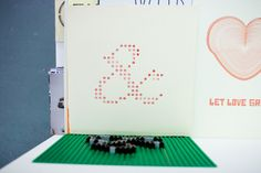 lego letterpress(!!!!) seriously, flipping amazing idea. all credit to: studio@thisisaekido.co.uk