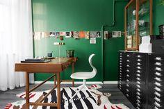 Groen muurtje