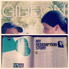 """My Redemption Story"" was republished in the October 2014 of Gideon's Canada magazine."