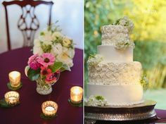 Simple Cake with buttercream. Southern Rustic Wedding. Beaver Dam Davidson NC. Kathleen and Kerry Indigo Photography Blog » Charlotte Wedding Photographers
