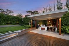 Whispered Bbq Area Ideas Secrets fine Remember how much storage you'll need for your kitchen. Where you choose to place your outdoor kitchen is dependent on many factors. An outdoor kitche. Backyard Inspiration, Outdoor Kitchen Design, Outdoor Entertaining Area, Outdoor Dining, Backyard Design, Outdoor Rooms