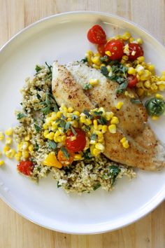 Recipe: Crispy Catfish & Freekeh. Have you heard of freekeh? It's a grain!