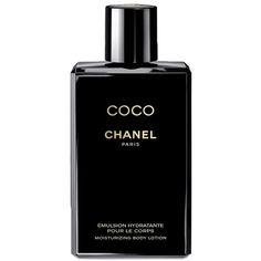 CHANEL COCO NOIR Moisturizing Body Lotion ($51) ❤ liked on Polyvore featuring beauty products, bath & body products, body moisturizers, beauty, makeup, fillers, perfume, accessories, body moisturizer and chanel perfume