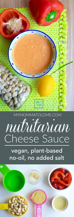 One thing I miss most in my vegan Nutritarian lifestyle is good old cheese!  Check out this really easy cheese sauce recipe you can make in your blender!  Totally Eat to Live compliant!  Perfect over baked potatoes, steamed broccoli, black beans or vegan nachos!