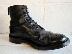 """Tricker's """"Country Boots Stow"""" Totally Awesome, Awesome Stuff, Country Boots, Combat Boots, Vintage, Shoes, Fashion, Moda, Zapatos"""