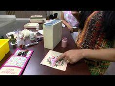 Mulher.com - 02/12/2015 - Caixa romântica rendada - Livia Fiorelli PT1 - YouTube