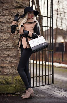 Hi my stylish readers!   Today's look feature stylish coat from TBDRESS  and a beautiful ba...