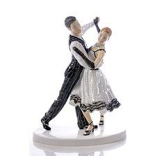 Royal Doulton Ballroom Dancing \'The Quick Step\' Figurine