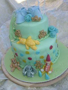 Baby shower (teddy bear) cake